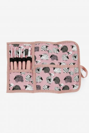 Crochet Holder in pink