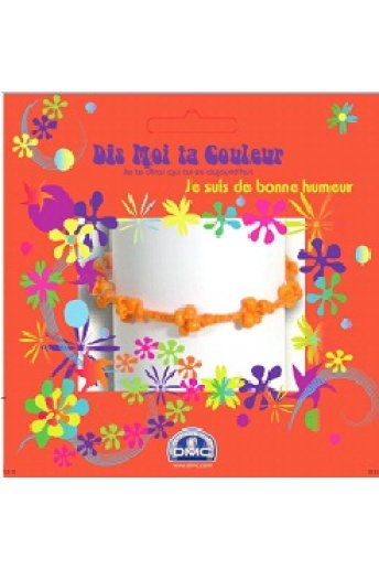Bracelet brésilien orange u2000g