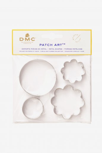 Patch Art: Flower and Circle Metal Mould