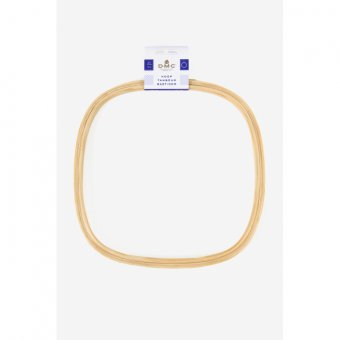 Square Wooden Hoop - 10 Inch