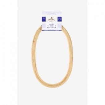 Oval Wooden Hoop - 6 Inch