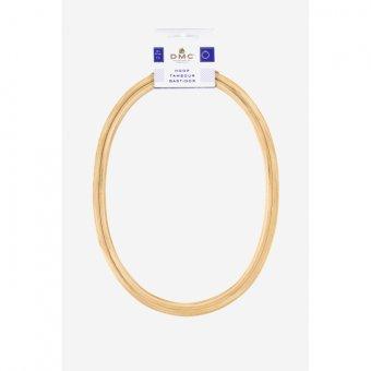 Oval Wooden Hoop - 8 Inch