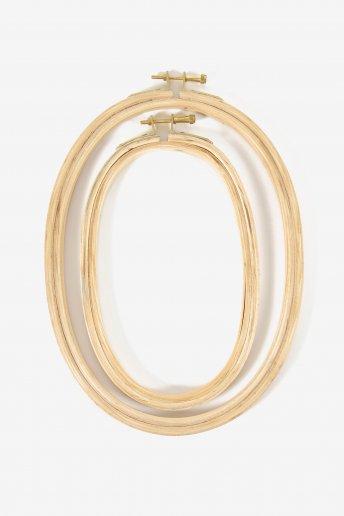 Oval Hoop Duo