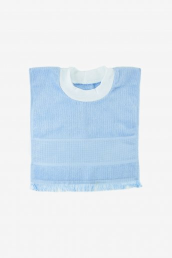 Toddler Pullover Bib Blue