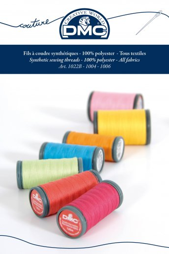 Polyester sewing thread shade card
