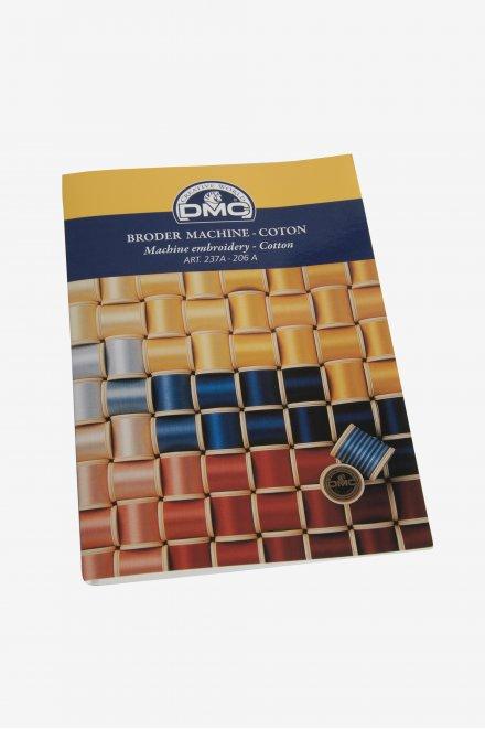 Nuancier carte de couleurs broder machine art.237