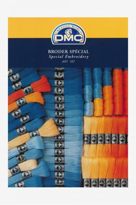 Nuancier carte de couleurs broder spécial 107