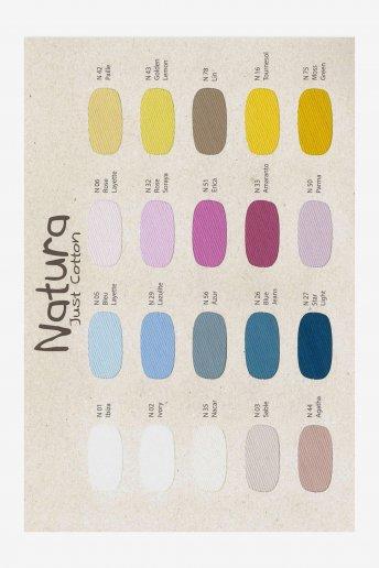 Carta de colores natura w302D