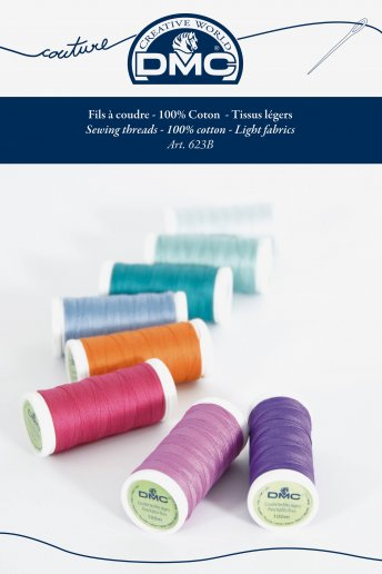 Cotton sewing thread shade card (printed)