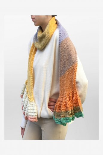 Catalogue tricot 3 modèles laine Révélation