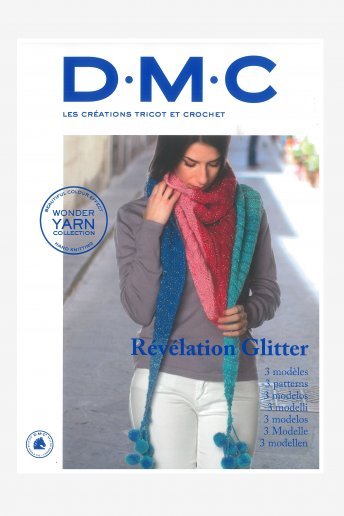 Mini revista tricot y ganchillo 3 modelos lana Révélation